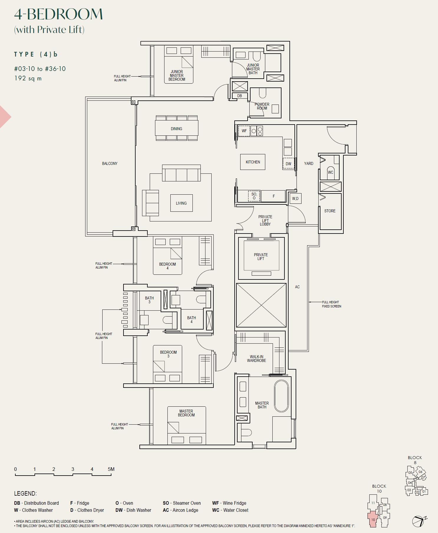 Floor Plan The Avenir 66802508 Singapore